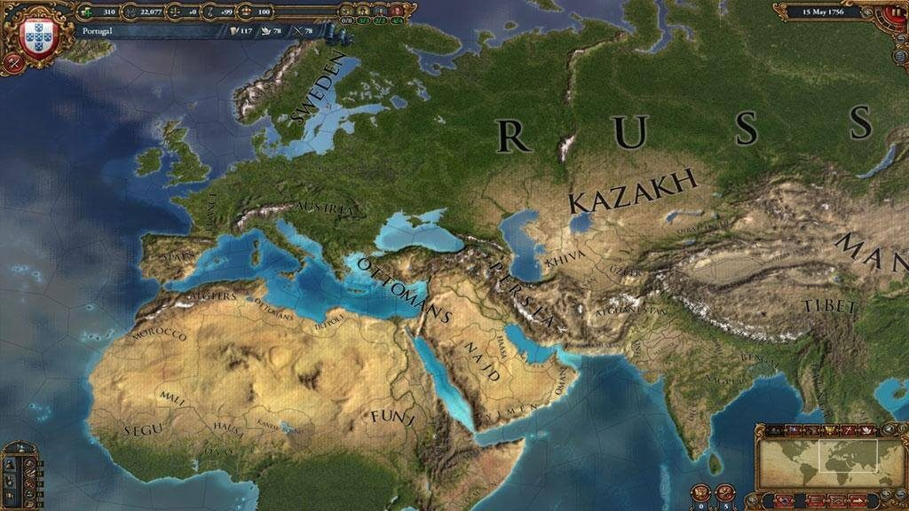 Europa Universalis IV и Crusader Kings II