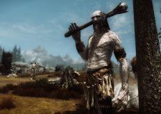 Художник Skyrim признался, что срисовал гигантов со своего отца