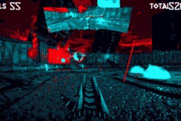 Hellscreen – ретрошутер с зеркалом заднего вида