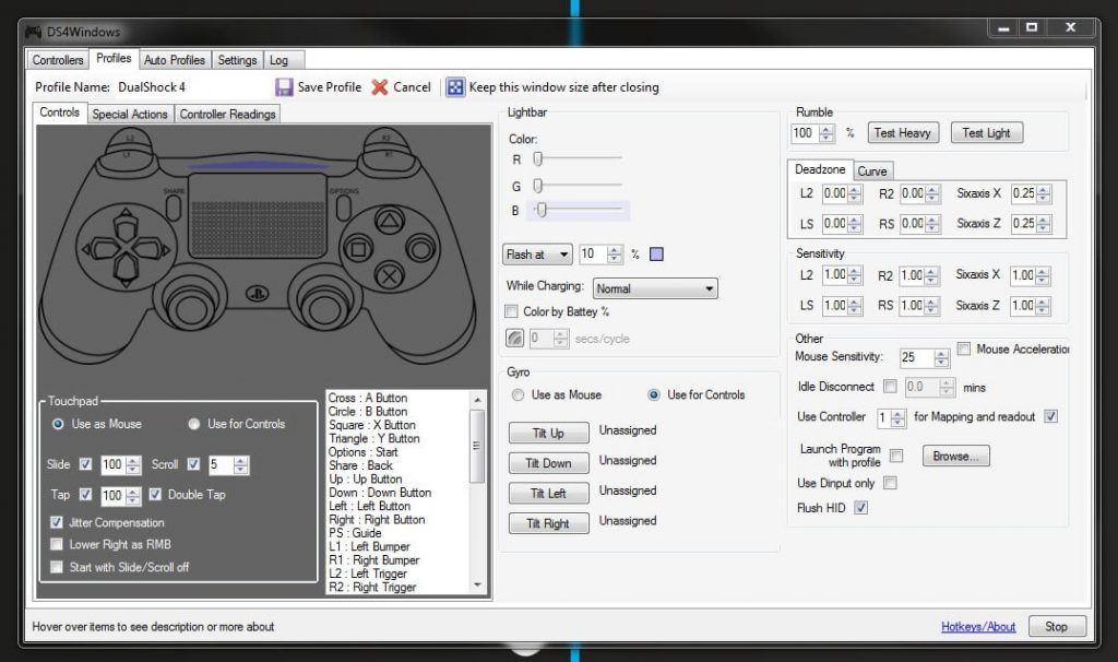 Как использовать контроллер от Playstation 4