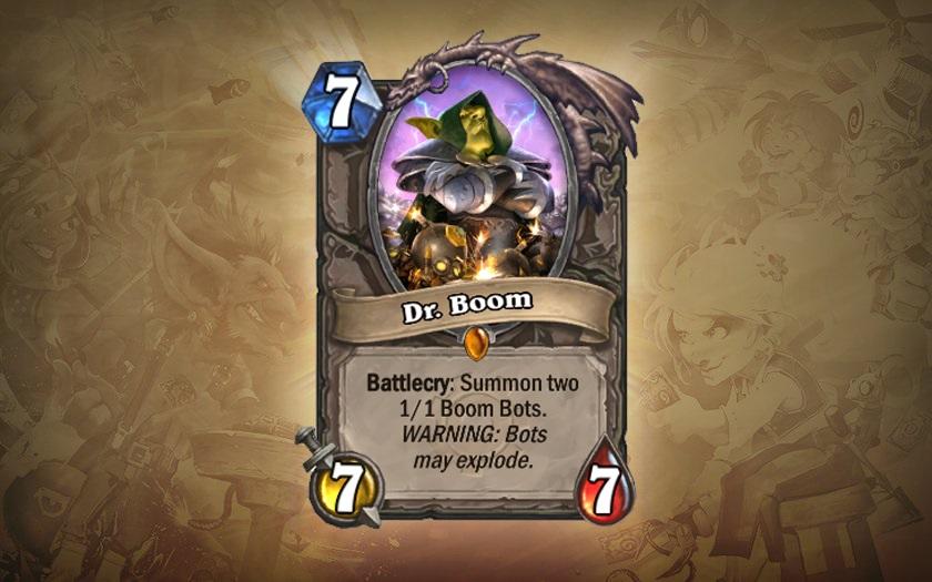 Доктор Бум – Hearthstone