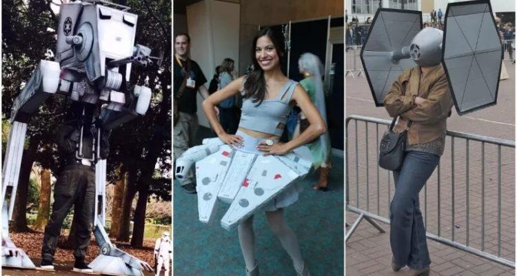 Косплееры изображают технику из Star Wars