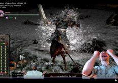 Стример прошёл всю серию Dark Souls без единого удара