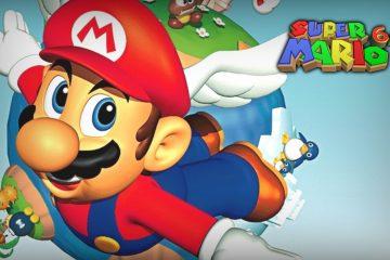 Super Mario 64: Ocarina of Time - фан-игра
