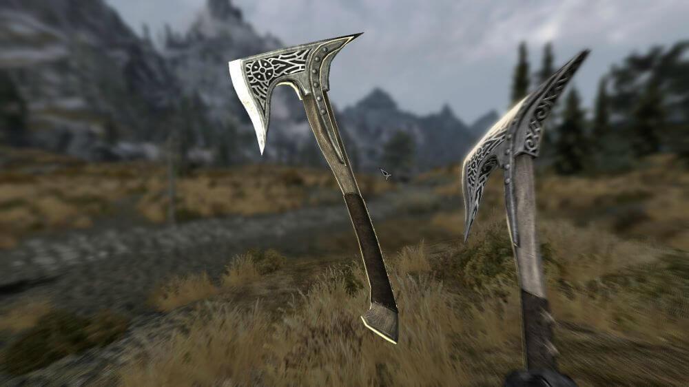 Топор, булава или меч – что лучше использовать в Скайриме?
