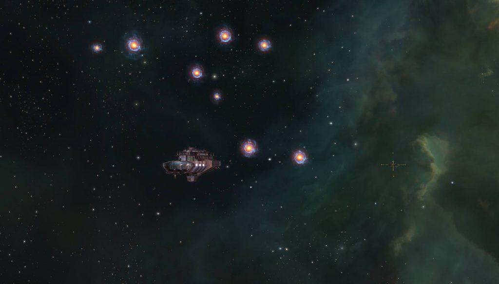 В дань памяти Стивена Хокинга пилоты EVE Online зажигают огни маяков