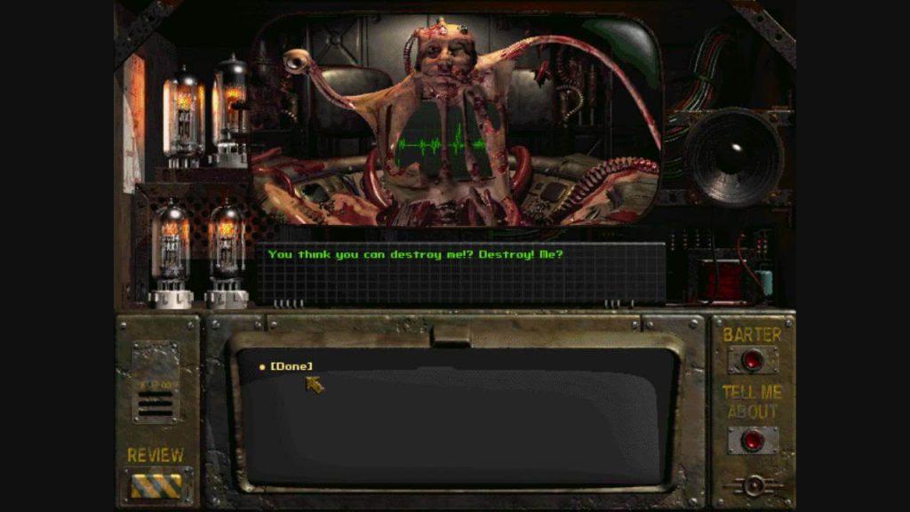 Создатель, Fallout