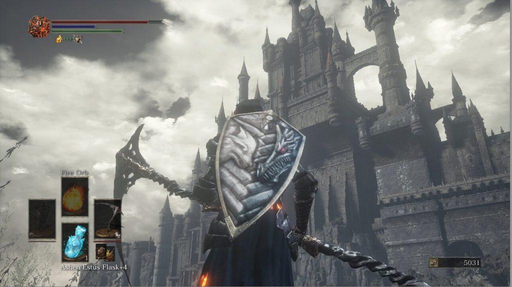 Restored Lothric Kinght Armour, Por Artorias Shield и Dragonslayer Greatsword