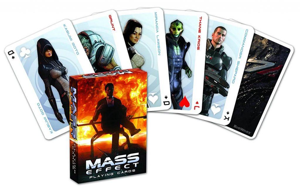 Игральные карты Mass Effect