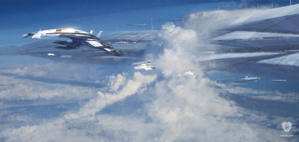 Арт-принты Cook & Becker Mass Effect