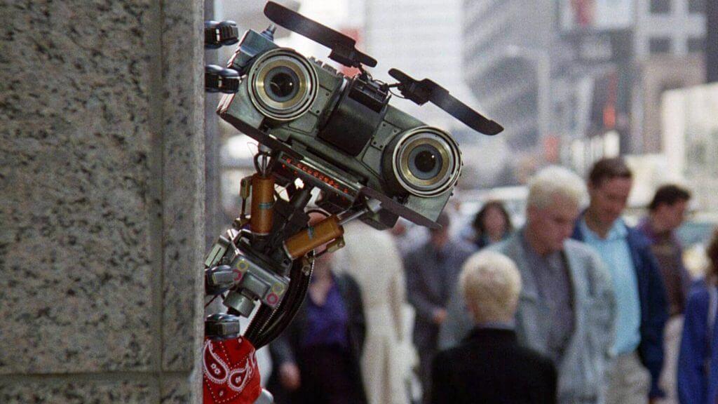 Боевой робот № 5