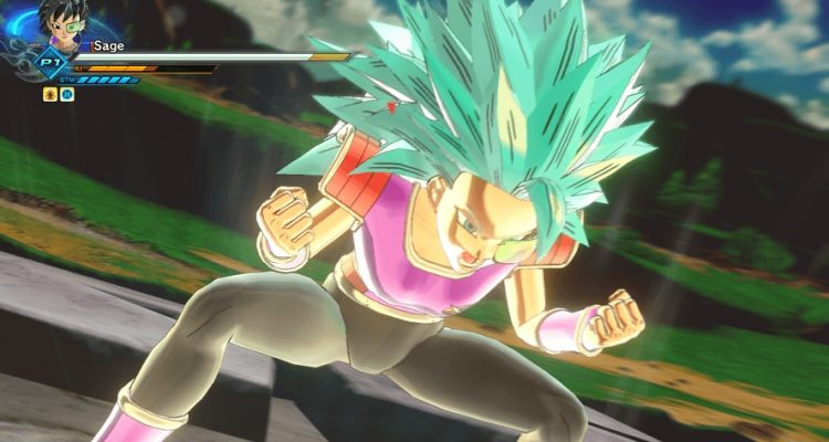 Dragon Ball Xenoverse 2 Super Saiyan Blue