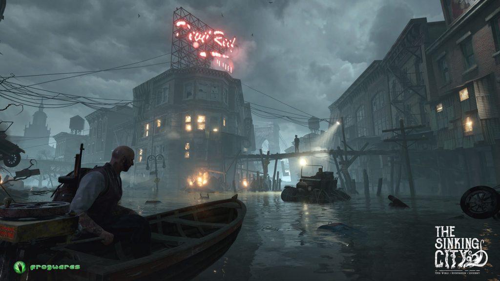 Игра The Sinking City, похожая на L. A. Noire, создана по мотивам Говарда Лавкрафта