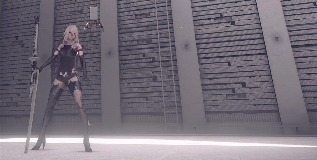 NieR: Automata – доступен мод FAR, улучшающий эффекты рассеивания света в глубину и свечения