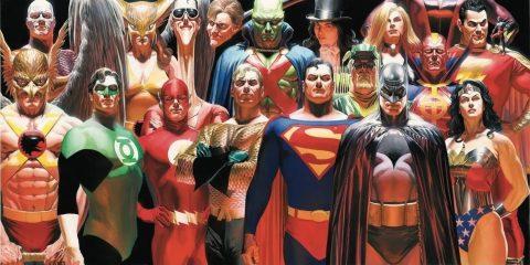 Проблема с персонажами DC Comics