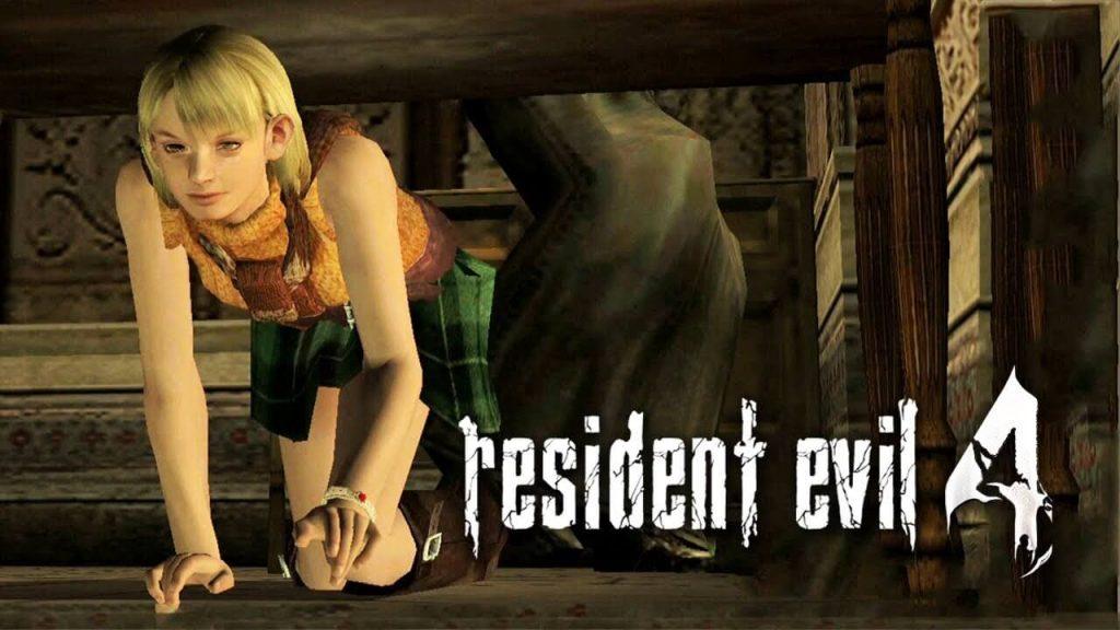 Эшли из Resident Evil 4
