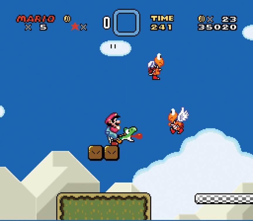 Йоши из Super Mario World