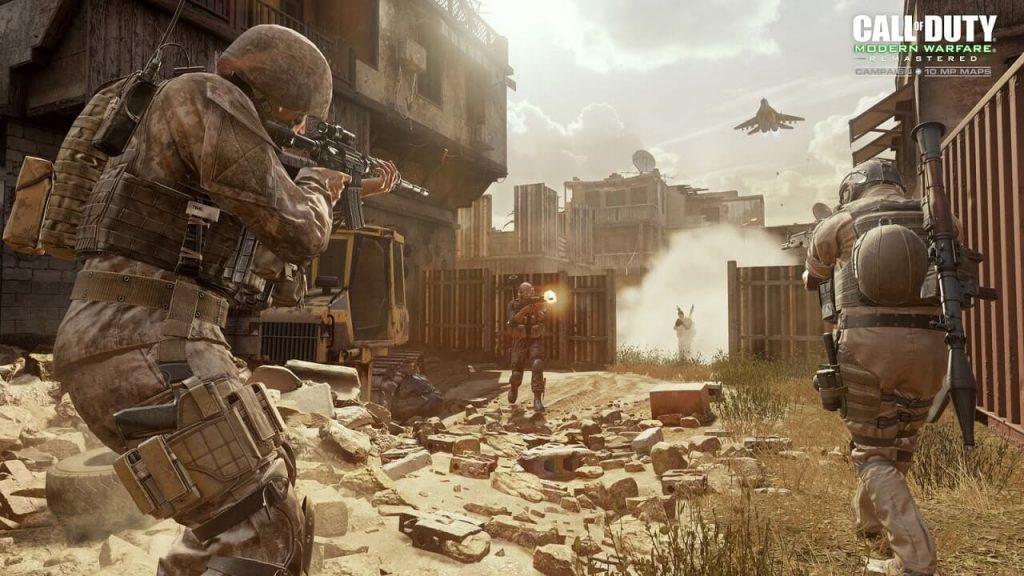 Практически кто угодно из Call of Duty