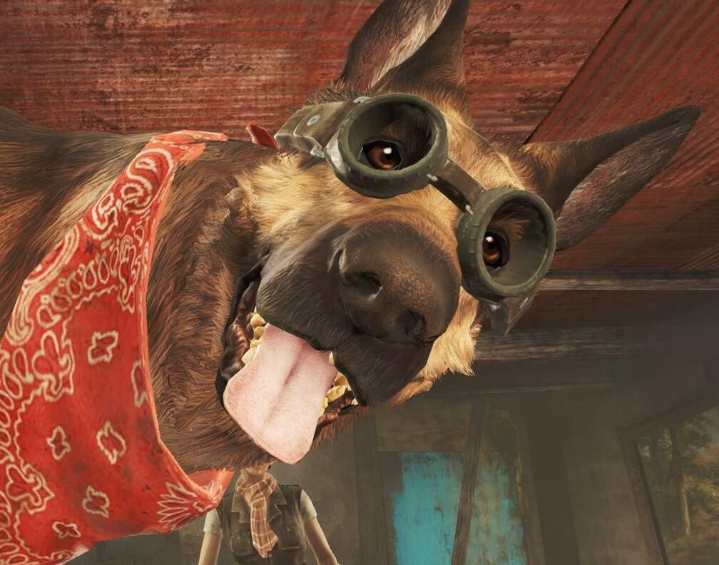 Псина из Fallout 4