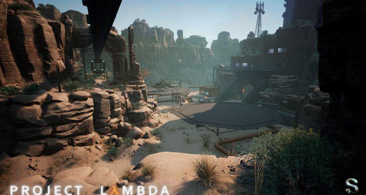 Скриншоты проекта Half-Life на Unreal Engine 4