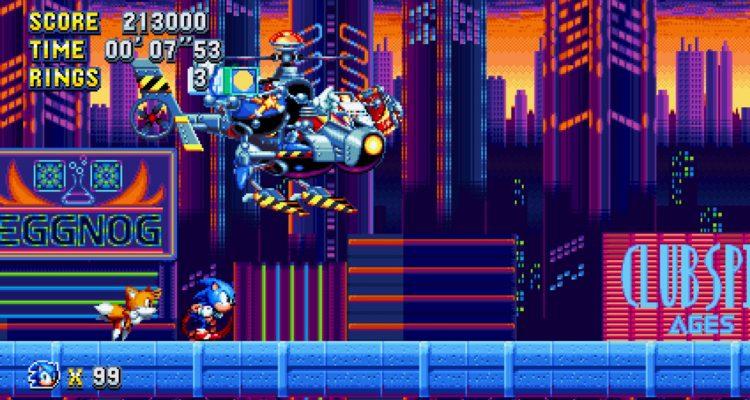Sonic Mania Boss Rush Mod