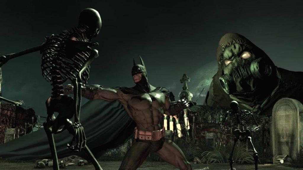 Намеки на сиквел (Batman: Arkham Asylum)