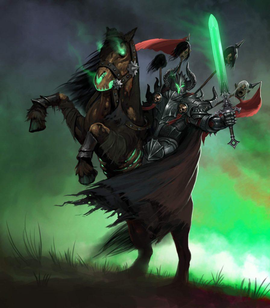 За что я люблю играть рыцарем смерти в World of WarCraft?