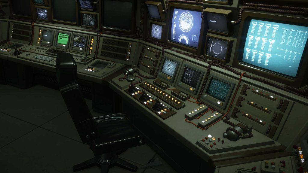 Компьютеры на станции «Севастополь».