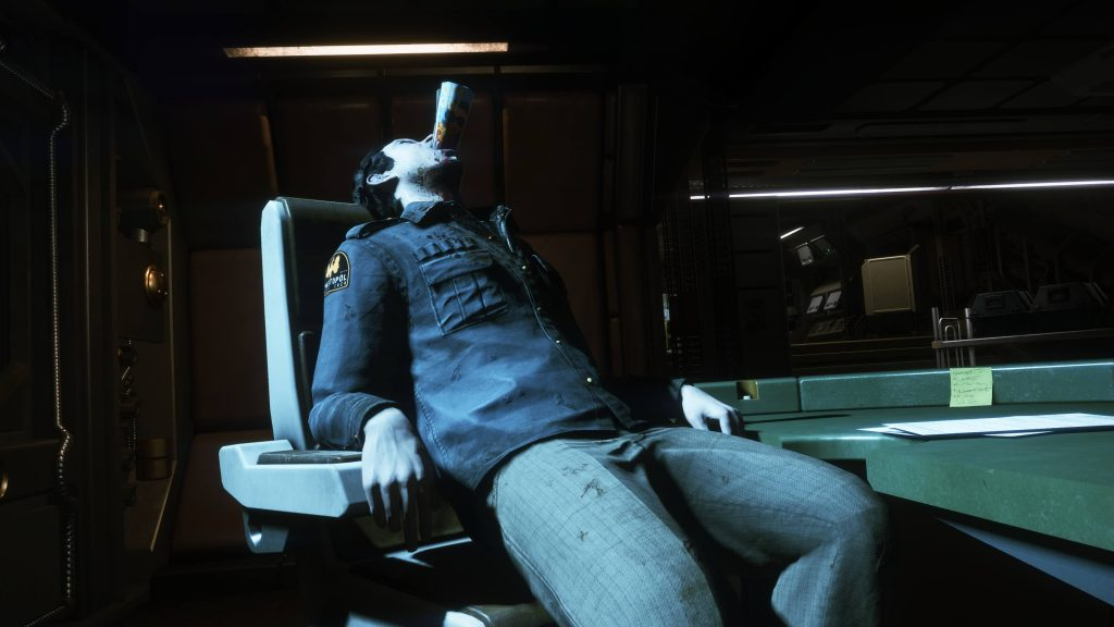 Жертва неконтролируемого андроида «Сигсон» серии Джо.