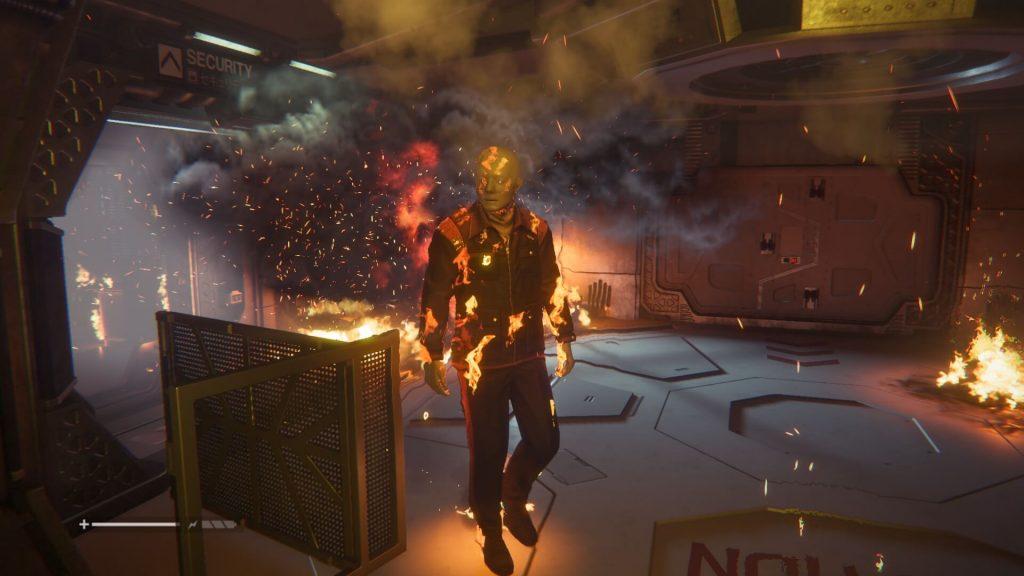 Flaming Bolt Gun