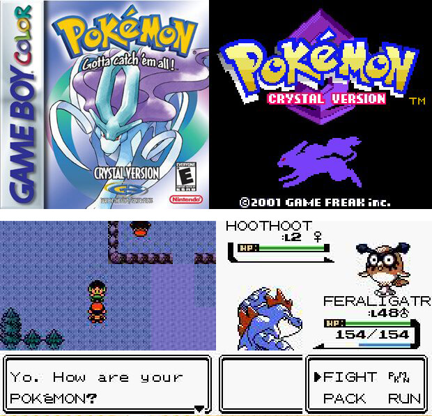 Pokemon Gold/Silver/Crystal