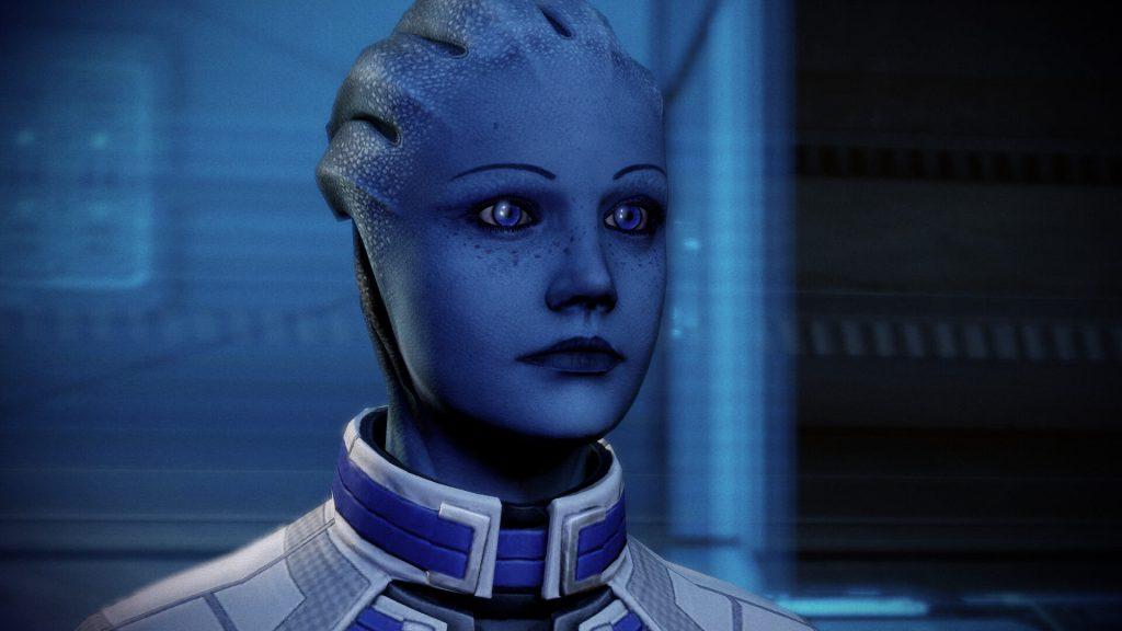 Лиара - Mass Effect