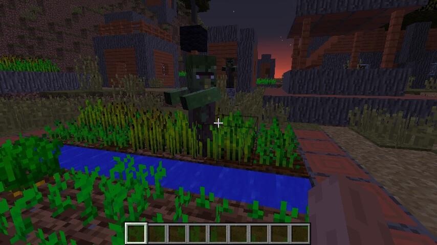 Жуткая деревня зомби