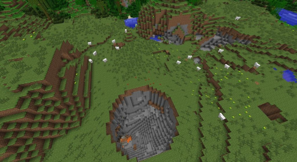 Сумасшедший кратер