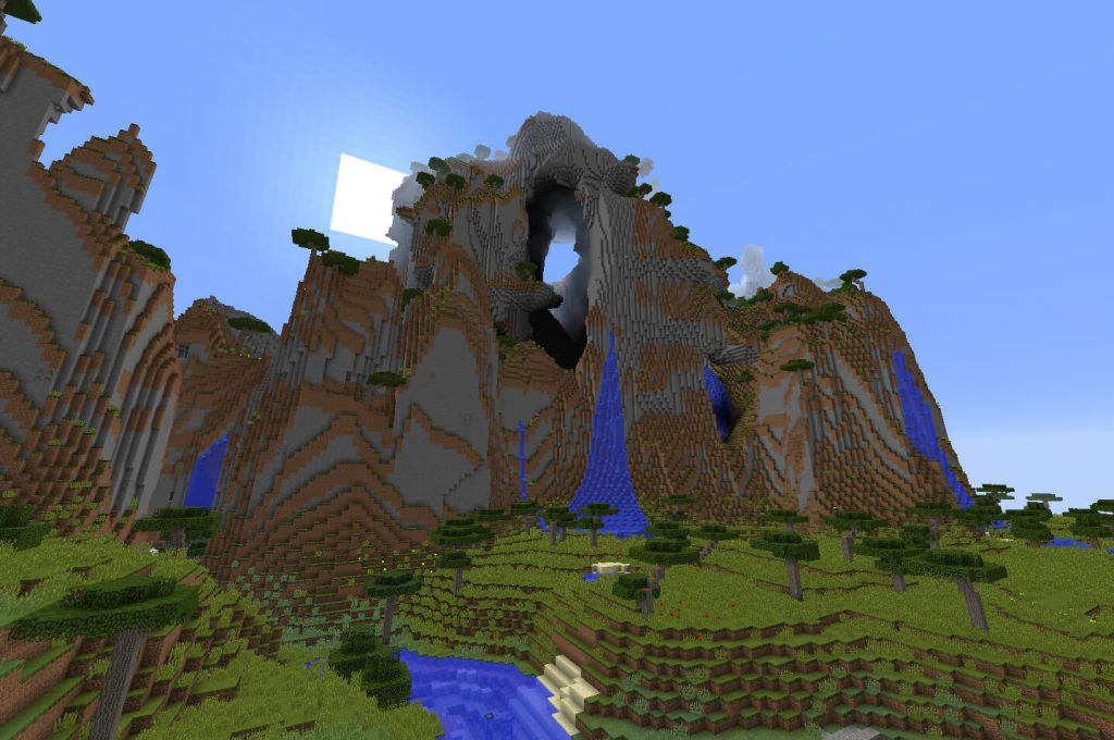 Пещерная гора с зомби
