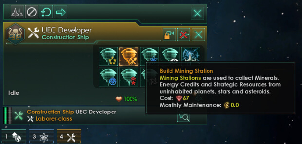 No Mining Station Maintenance