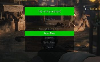 Call of Duty: Black Ops III Zombie GSC Mod Menu