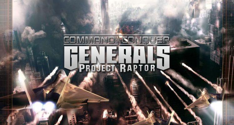 Command & Conquer: Generals Zero Hour Project Raptor 9