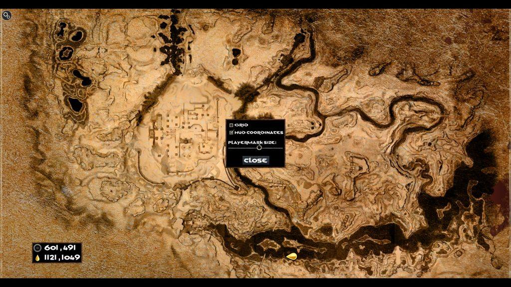 Conan Exiles Map marks and Coordinates