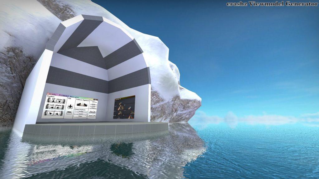 Counter-Strike: Global Offensive crashz' Viewmodel Generator