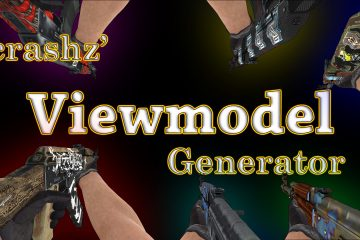 Counter-Strike: Global Offensive crashz' Viewmodel Generator