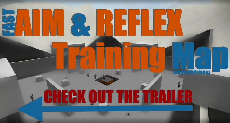 Counter-Strike: Global Offensive Fast Aim/Reflex Training Map
