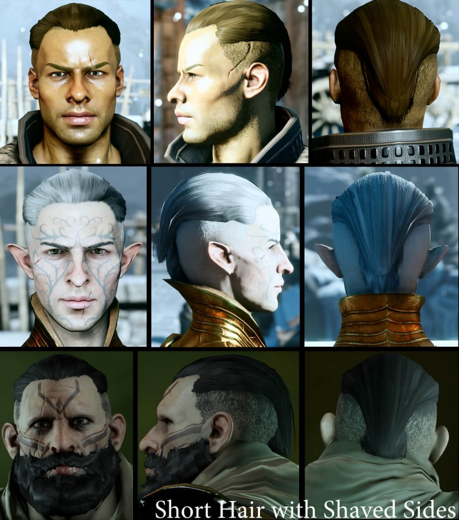 Dragon Age: Inquisition SK Hair Pack