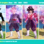 Dragon Ball Xenoverse 2 Goku Black N-Graphics