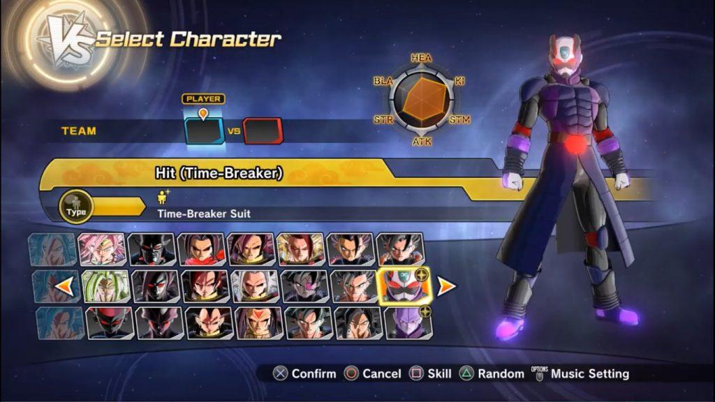 Dragon Ball Xenoverse 2 Hit (Time Breaker)