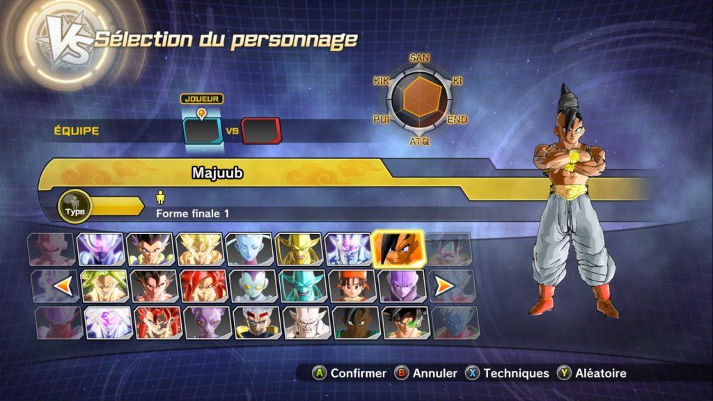 Dragon Ball Xenoverse 2 Majuub