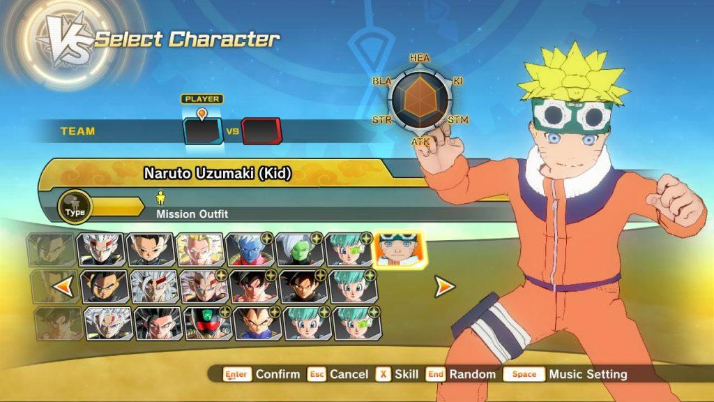 Dragon Ball Xenoverse 2 Naruto Uzumaki (Kid)