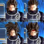 Dragon Ball Xenoverse 2 SSJ4 Hair Pack