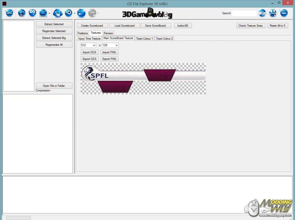 FIFA 16 CG File Explorer
