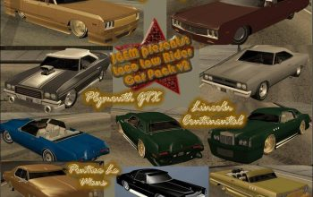 Grand Theft Auto: San Andreas Loco Low Rider Car Pack